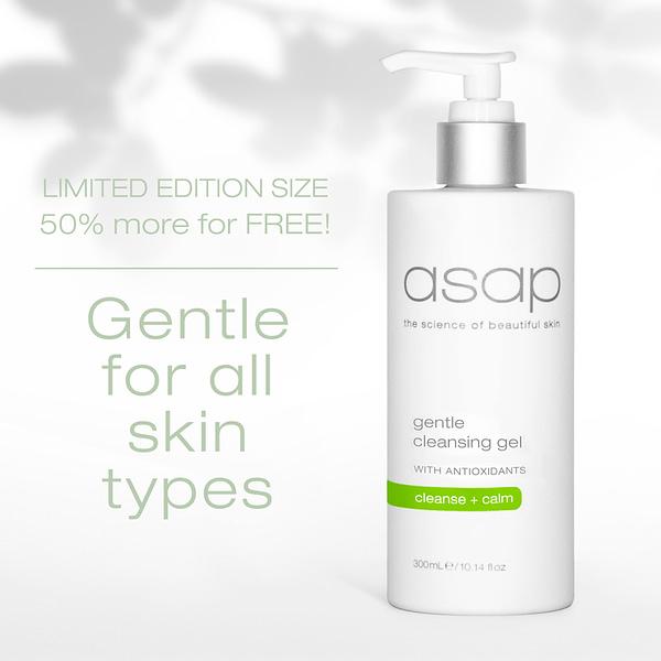 asap daily exfoliating facial scrub 300ml