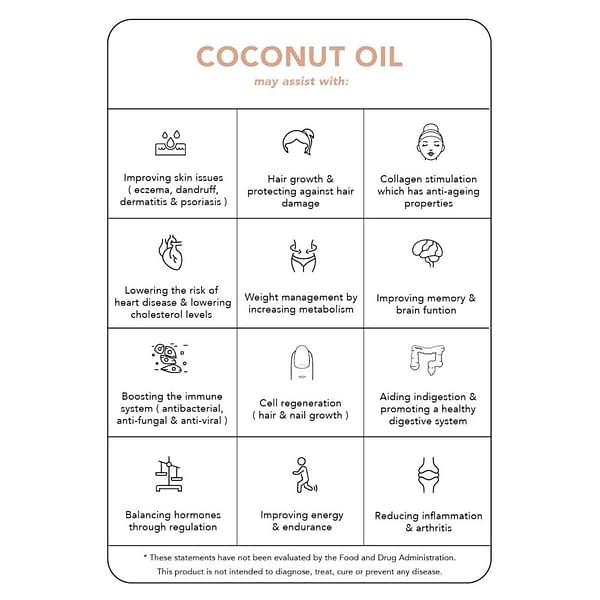 Tonik 1 - Organic Coconut Oil Capsules