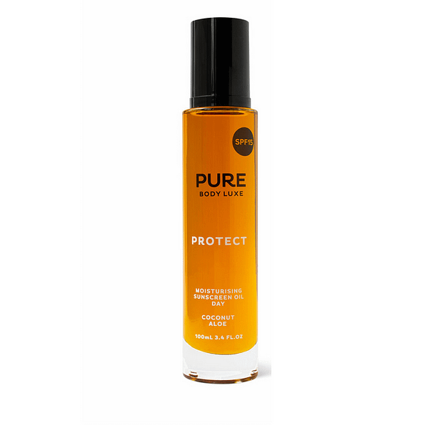 Pure Body Luxe PROTECT SPF15 - Face and Body Oil 100mL