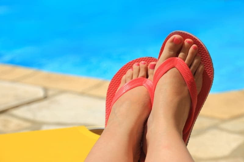 Infection free toe nails - with laser